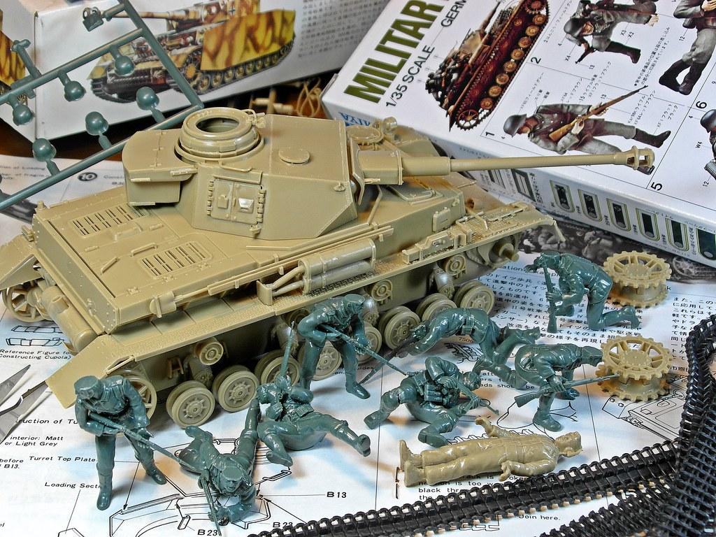 70's Memories Project – Tamiya – 1/35 German Panzerkampfwa