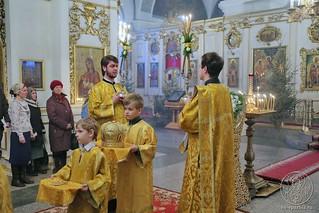 Литургия в Покровском соборе 110