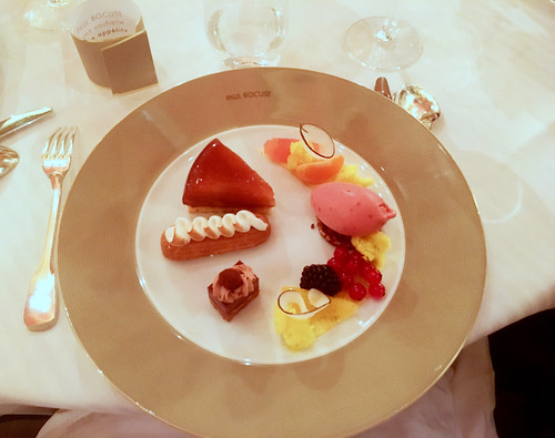 Dessert Paul Bocuse Restaurant, Lyon | by university of gastronomy