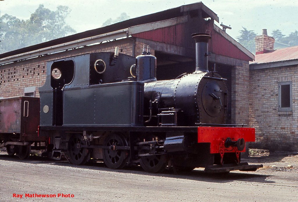 The Peckett Rotowaro 1971