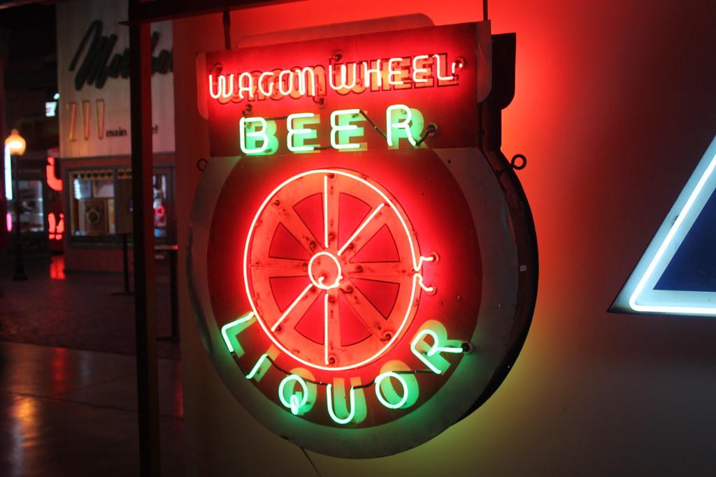 Wagon Wheel Beer Liquor