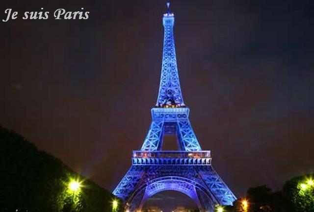 Je suis Paris. Foto by Wikypedia