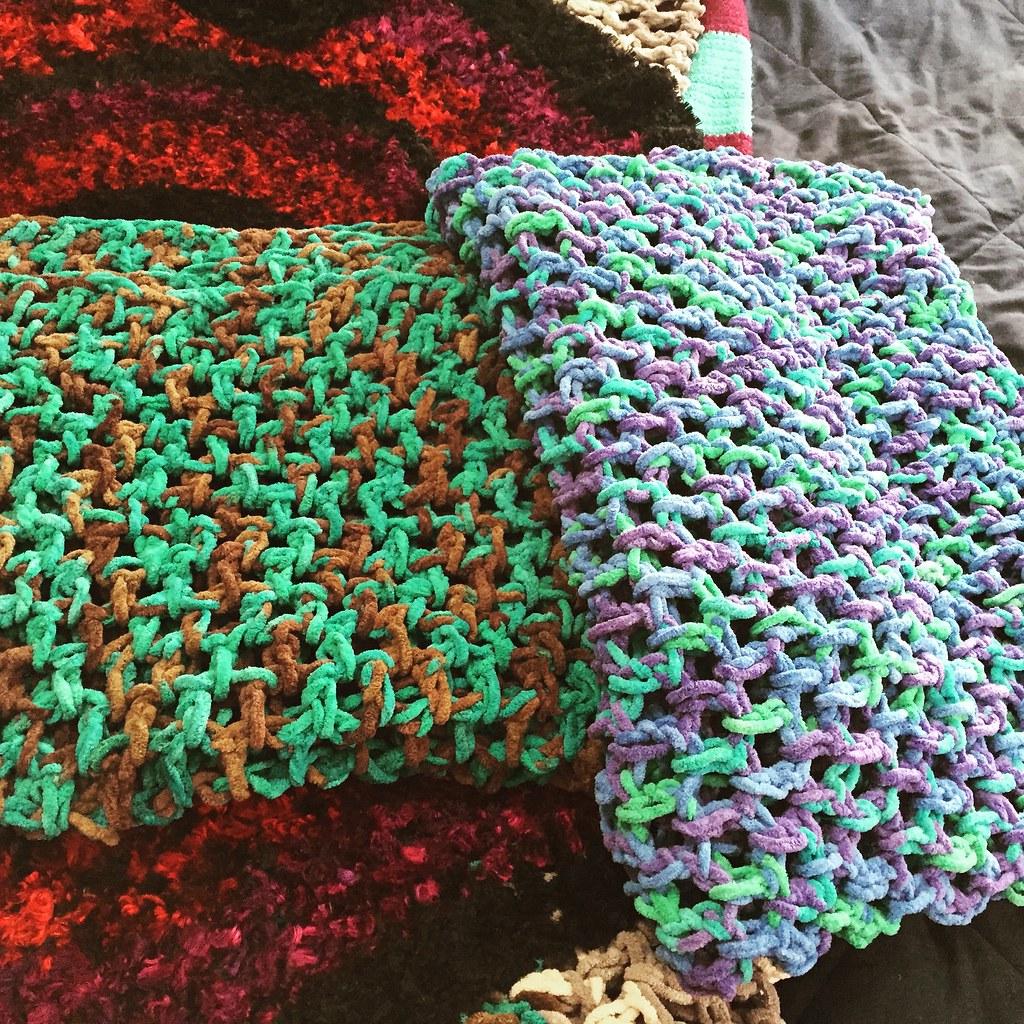 Fleece Blankets Crochet Fleece Blankets Sarah Newton Flickr