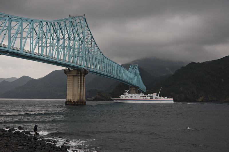 Pont reliant l'île d'Hirado à l'île d'Ikitsuki