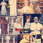 """False Prophet """"pope"""" Francis being Worshiped through his Statues"""