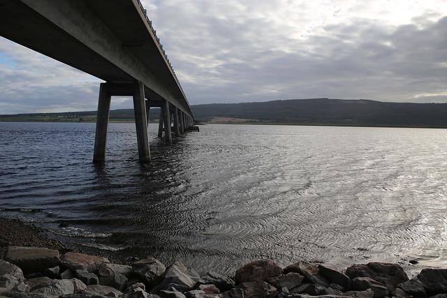 The Dornoch Firth bridge