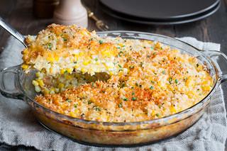 Sweet corn pie slice and pie   by tessascotolson