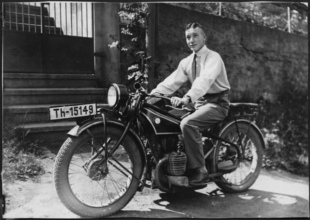 Archiv B076 BMW Reisemotorrad, 1929