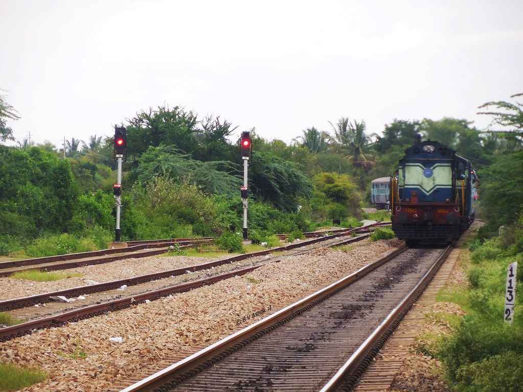 A train in Chikmagalur