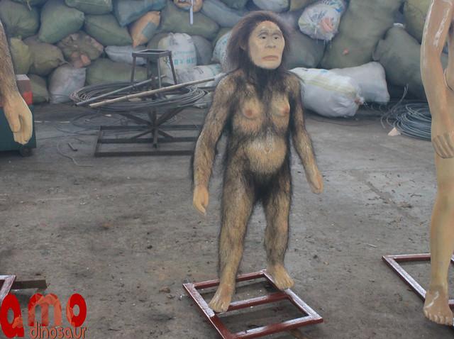Fiberglass  humans sculptures