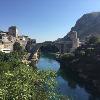 Mostar! So pretty and yet the city is so devastated