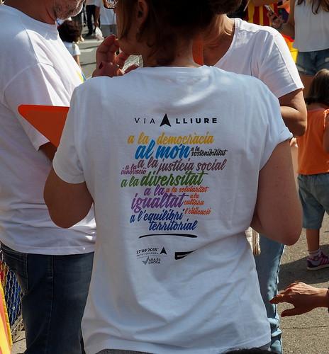 Via Lliure a la República Catalana_11S2015 Diada Nacional de Catalunya per Teresa Grau Ros a Flickr