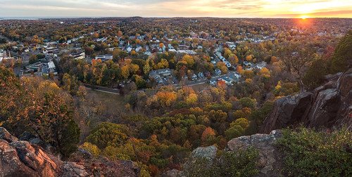panaroma microsoft ice olympus ep5 panasonic 14mmf25 new haven hamden connecticut ct westrock state park overlook autumn fall october 2015 sunset landscape fav25