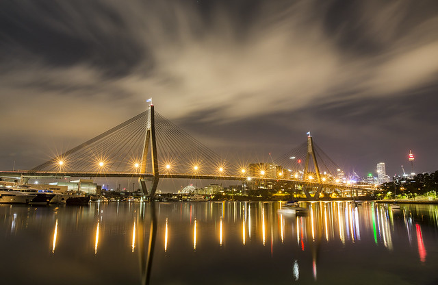 Anzac Bridge,Sydney