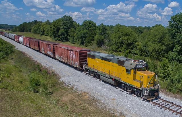 Golden Triangle Railroad GTRA 819 Columbus, Mississippi