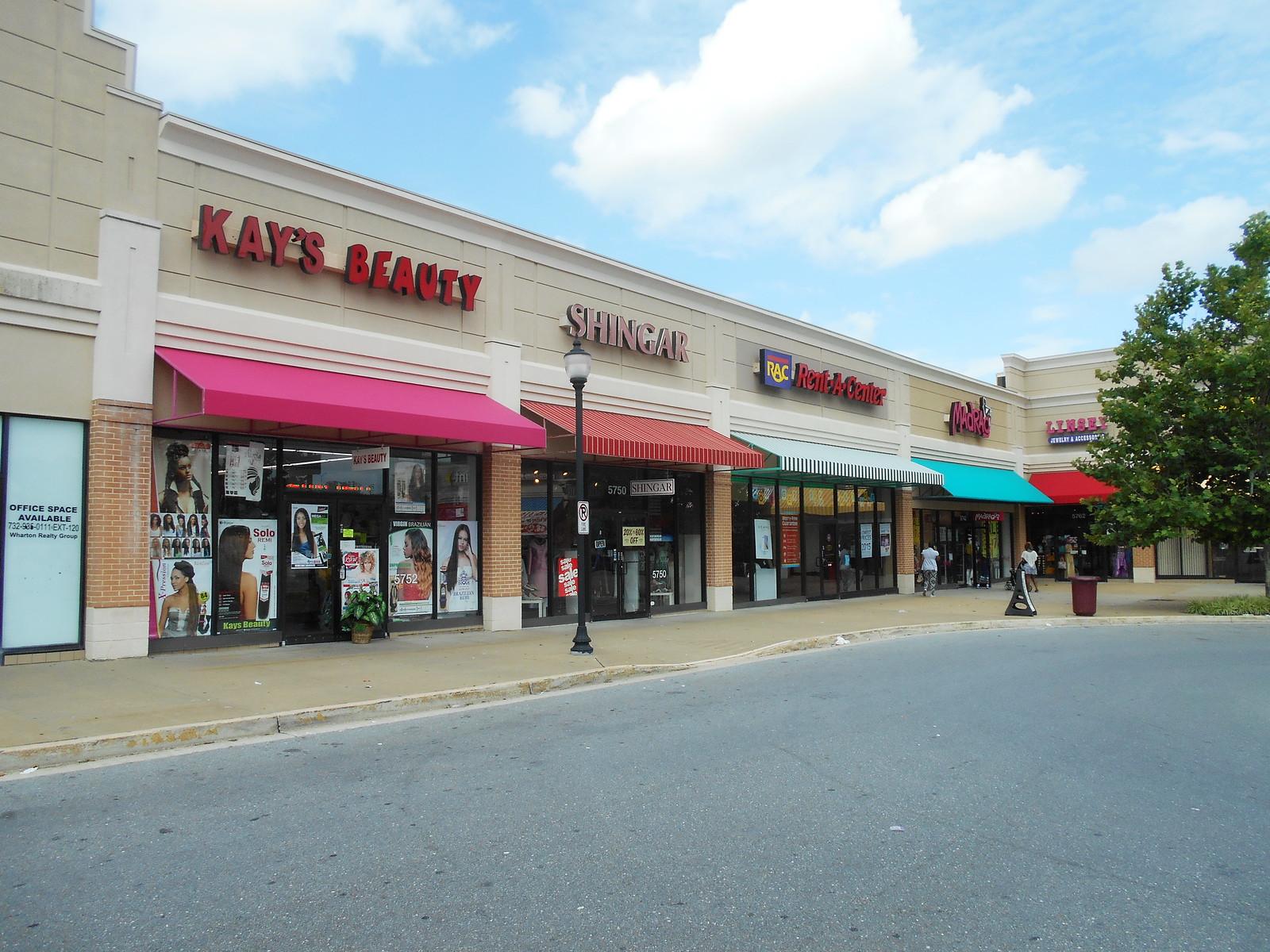 Shoping Center Awnings