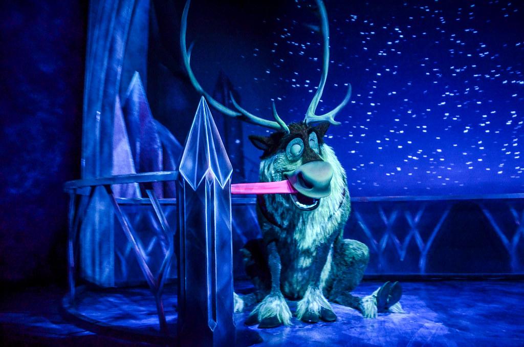 Sven Frozen Ever After
