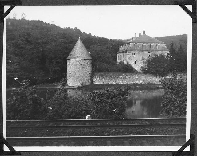 Archiv Chr013 Schloss Hardenberg, Velbert 1926