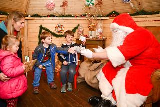 Meeting Santa | by photoverulam