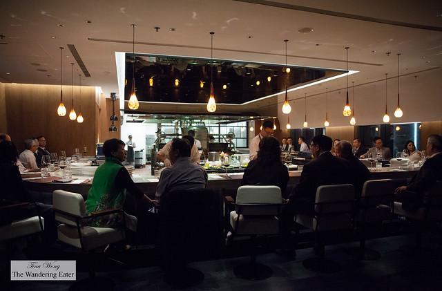 Open kitchen at INGE'S