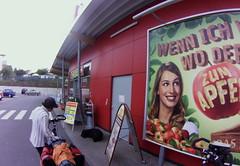 Rewe supermarket
