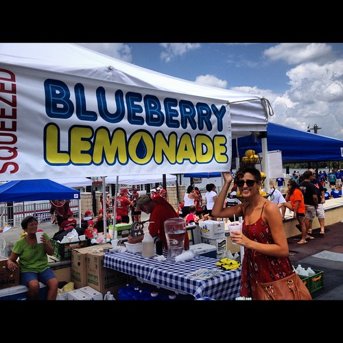 Hoda BlueberryLemonade Aug 2012 | by toutberryfarms