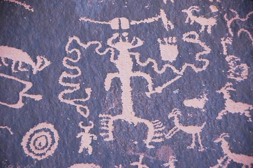 Indian petroglyphs (~100 B.C. to ~1540 A.D.) (Newspaper Rock, southeastern Utah, USA) 8 | by James St. John