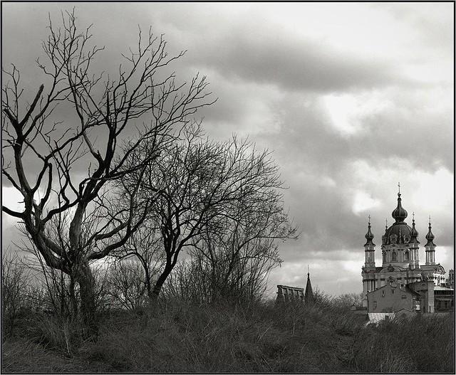 2015-04-05 Andreevskaya Church, Kiev, Ukraine