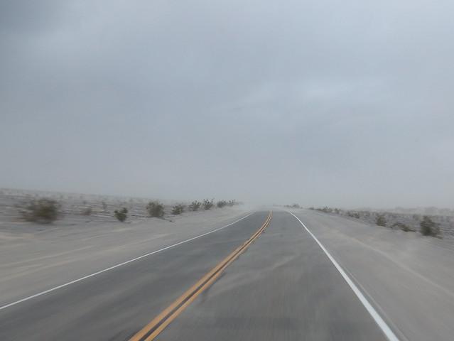Death Valley NP - zandstorm