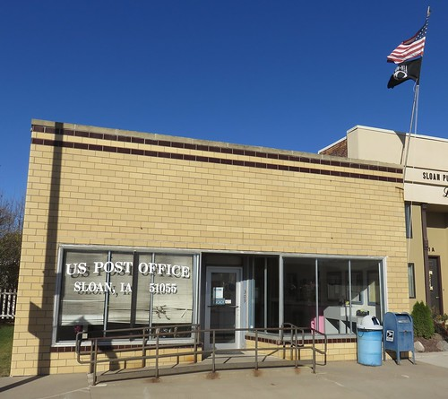 iowa ia postoffices woodburycounty sloan loesshillsregion northamerica unitedstates us