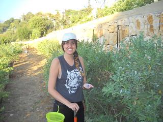 Rima picking Blueberries b Jun 15, 2014 | by toutberryfarms