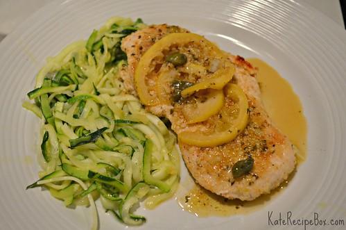 ChickenPicattaZoodles | by katesrecipebox