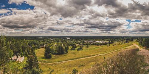 summer sky panorama ski clouds horizon hill olympus panasonic alpine valley distance hdr omd em10 14mm getolympus