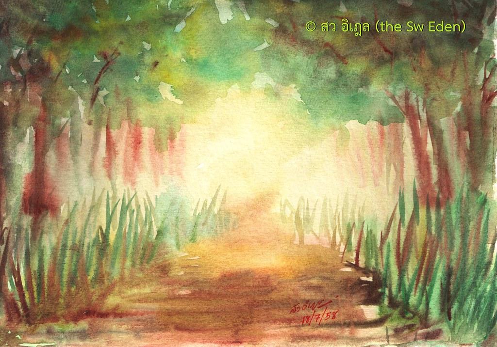 ไม้เถาวัลย์กลืนป่าสงวน ต้นโพธิ์ อุทยาน