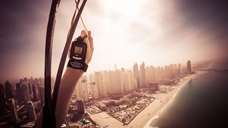 Parachuting into Dubai | by pictcorrect