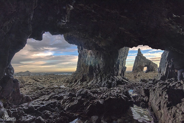 Campiecho, cueva con vistas al mar