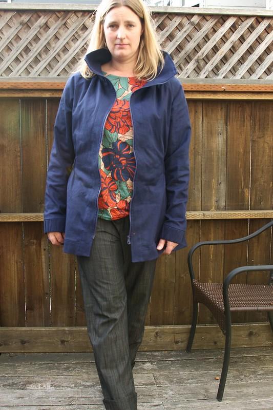 outfit - Moji pants Akita blouse Minoru jacket