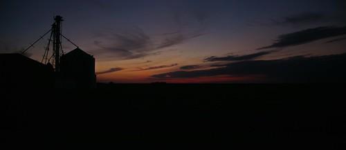 sunset evening midwest nebraska ne cornhuskerstate