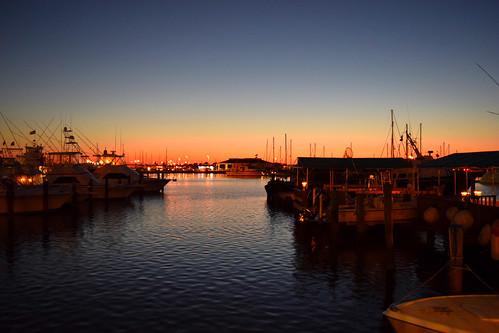 sunset pier boats texas nikon d5300 2015 clearskies aransaspass