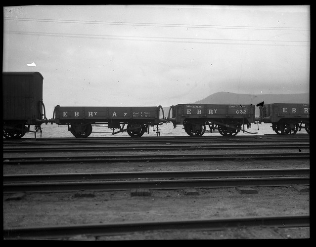 [Standard rolling stock of the Emu Bay Railway, Burnie, Tasmania] [1950s]