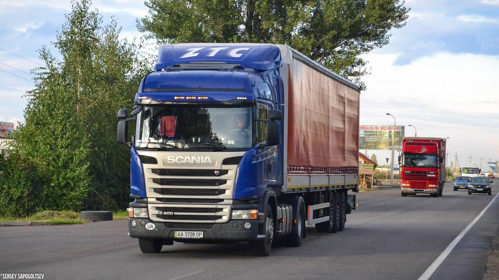 Scania G400 Streamline Hughline - Zubarev Transport Compan… | Flickr