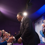 Jesse Jackson greets his fans | Jesse Jackson greets his fans at the Book Festival  © Alan McCredie