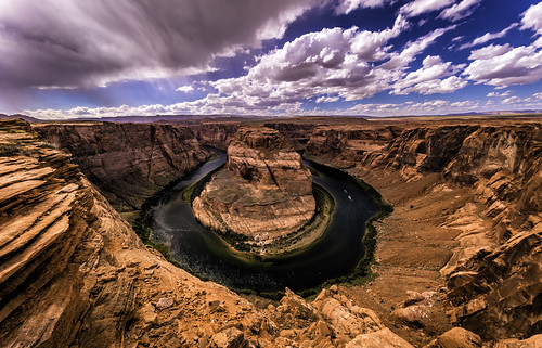 arizona sky usa nature horizontal clouds river landscape outdoors day unitedstates unitedstatesofamerica scenic wideangle lookout page coloradoriver meander 自然 idyllic 자연 scenicview 美国 horseshoebend 미국 colorimage 하늘 구름 coconinocounty 강 亞利桑那州 曲流 cohonino 科羅拉多河 콜로라도강 hoozdohahoodzo 佩吉市 애리조나주 전원적 canon1124mmf4l 可可尼諾縣 蹄铁湾 말굽협곡 사행천 sonya7riiwithefmountlens