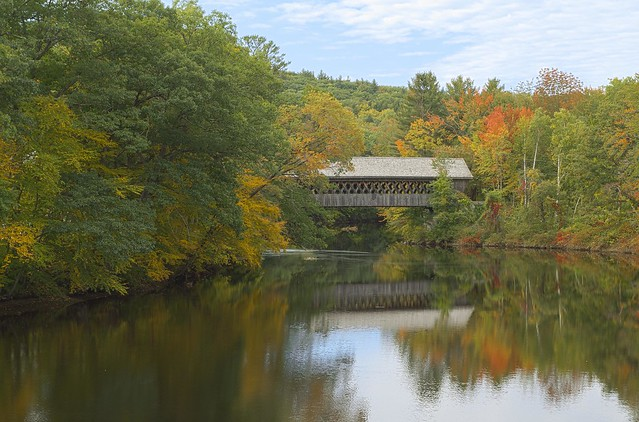 Henniker Bridge, Henniker, NH
