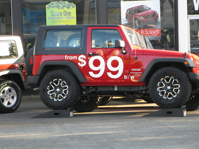 Jeep vinyl