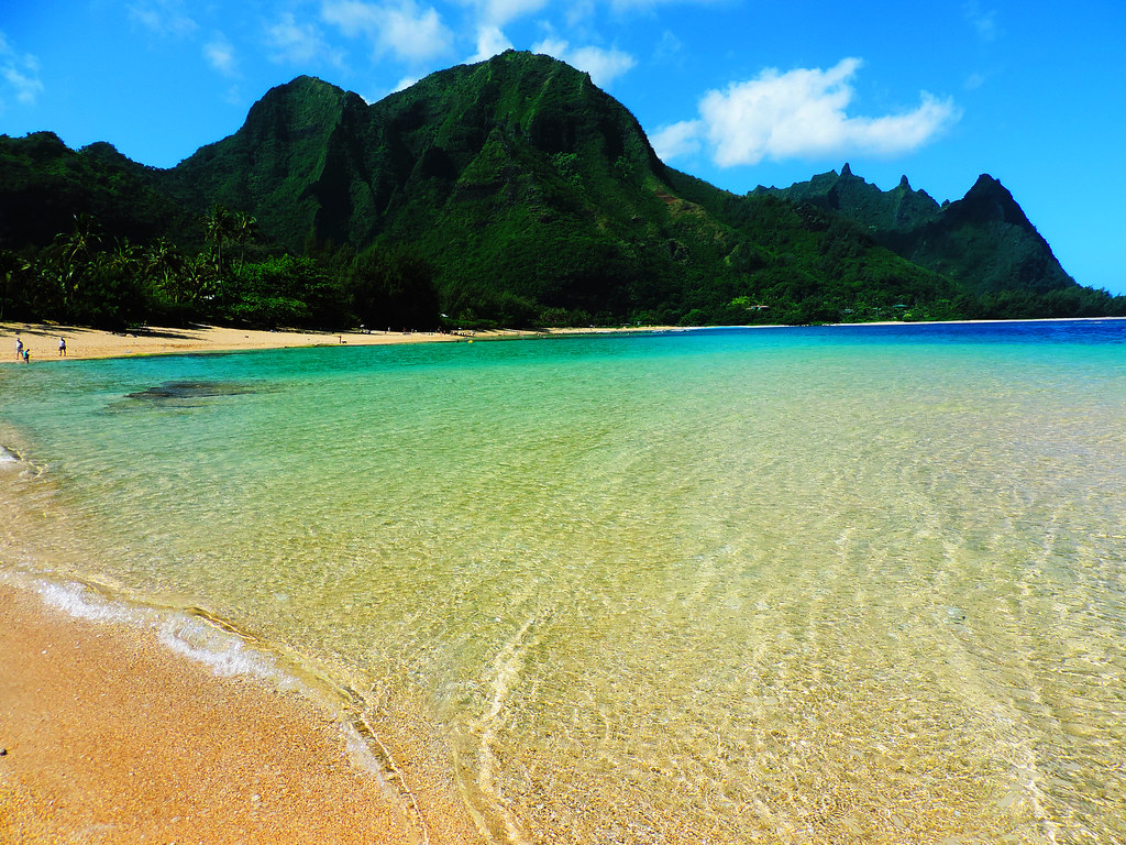 Tunnels Beach, Kauai, Hawaii