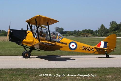 de Havilland Canada DH-82-C Tiger Moth s/n 981 (1941) C-GM