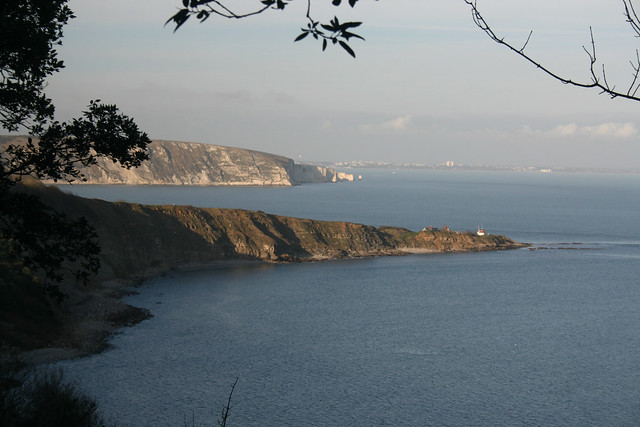 Peveril Point and Handfast Point