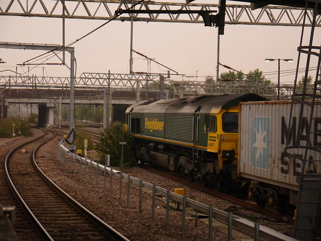 Freightliner 66517 at Nuneaton