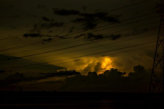 Glowing Stormcloud